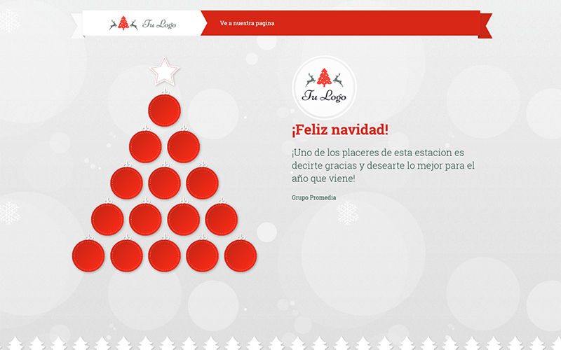 Demo 1: Animated Christmas Card